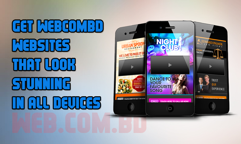 Mobile Device Compatible Responsive web Design