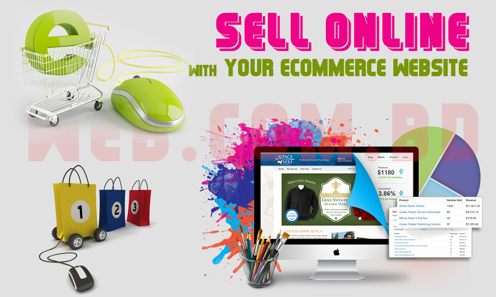 eCommerce website design from Bangladesh